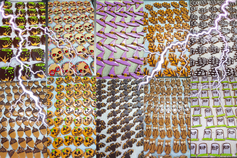 Halloween cookies $16.00 per LB